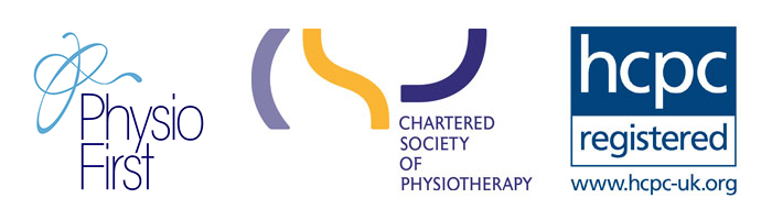 Physio First, CSP & hpcp Registered